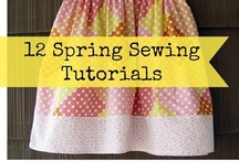 Sewing Tutorials {DIY} / A little of this and a little of that...sew it up! / by Everything Etsy