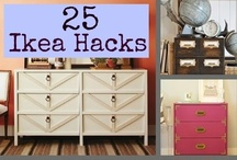 IKEA HACKS - DIY Home / Ikea hacks, diy home decor, decorating on a dime #diy #ikea #hacks / by Everything Etsy