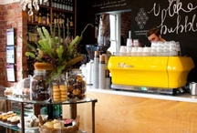 my coffee shop dream / by Jenna-lea Kelland