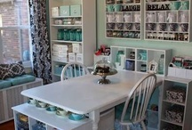 Creative Spaces - Scrapbook & Craft Studio Ideas / Inspiring Ideas for a Creative Home Office / by Peppermint Creative