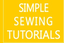 DIY Sewing Projects {Tutorials} / free sewing patterns and tutorials...simple projects for DIY gifts and beginning sewers! / by Everything Etsy