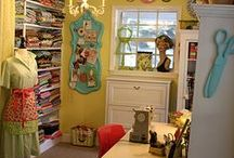 Inspiring Sewing & Craft Rooms / by Michelle Burnett