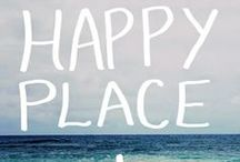 Going to my Happy Place / In my mind I'm already here and there..oh and over there / by Jenn Ortiz