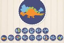 Let's Paaartyyy! / Noah's 1st birthday-Dinosaurs! / by Jenny Druck