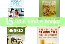 Free Kindle Books / Daily Free Kindle Book Lists  / by Jamerrill Stewart {FreeHomeschoolDeals.com}