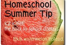 Homeschool Summer / Welcome to the Homeschool Summer board!  Here you'll find great summer activities, projects, games, and fun to make your homeschool Summer an awesome one.  / by Jamerrill Stewart {FreeHomeschoolDeals.com}