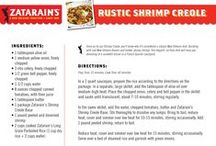 Recipe Box / Authentic New Orleans recipes from the Jazz Man's kitchen!  / by Zatarain's