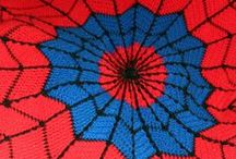 """Crochet / """"Ooh, dream WEAVER, I believe you can get me through the night."""" GARY WRIGHT, Dream Weaver / by Donna Walkush"""