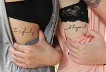 Inked all Over / by Katelyn Walters