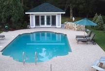 Pool Renovations: Before & After / These pools went from depressing--to refreshing! Learn more about these amazing pool renovations here: http://www.poolspaoutdoor.com/pools/inground-pools/articles/pool-renovations-before-after.aspx  and here: http://www.poolspaoutdoor.com/pools/inground-pools/articles/pool-makeovers-before-and-after.aspx# / by PoolSpaOutdoor.com