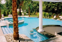 Award-Winning Pools / Designed to impress, these pools and spas have won national and international honors from top swimming pool associations and societies. View all of the award-winning pools in our complete photo galleries here: http://www.poolspaoutdoor.com/photos.aspx / by PoolSpaOutdoor.com