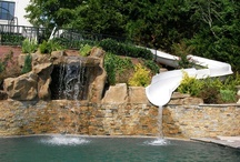 Waterslides / by PoolSpaOutdoor.com