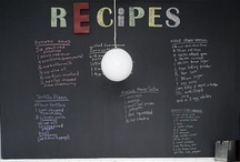 Chalkboards and Dry Erase Boards / by Cris @ GOODEness Gracious