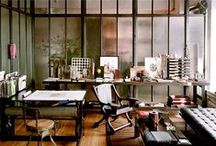 office space  / inspiring images for matt's one-day showroom / by Allison Siana