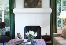 the mantel.  / by cecy j interiors