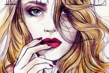 Fashion ilustration / by Lu Campelo