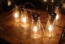 Glass & Light / Upcycled lighting / by Terri Osborne
