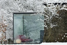 house with a garden. or a lake. or a forest. / a home surrounded by nature / by Judit Osvárt