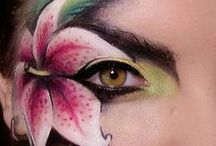 Facepainting / A collaboration of face and body paint for reference and inspiration. / by Sara Bequette