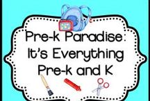 Prek Paradise It's Everything Preschool and Kindergarten / A great place to find resources for your pre-kindergarteners and kindergarten students.   Lots of cool resources from crafts to writing resources to clip art.  Enjoy! / by Animal Crackers and Apple Juice
