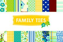 Family Ties Collection  / Family Ties collection, released fall 2012 by Pebbles, Inc. #family #fall #paper #papercraft #scrapbooking #cardmaking  / by Pebbles Inc.