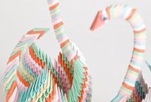 Paper art / Origami and paper folding  / by Cristina Moret Plumé