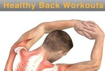 Fighting Back Pain With Fitness / Exercises and stretches to help you combat back pain and sciatica / by TeeterHangUps