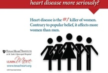 Heart Month Infographics / Twenty-eight days of heart health infographics from Texas Heart Institute's Hearti-facts collection, created for Heart Month. / by Texas Heart Institute