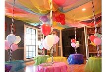 Carousel Party Ideas - Birthday or Baby Shower / Host a beautifully themed carousel party for a birthday or baby shower! / by Michelle Wise @ That Party Chick