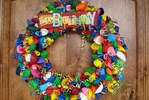 Birthday Party Ideas for Children / Ideas and inspiration for kid's birthday party decorations and fun!  For specific themed parties, check out some of my other pinterest boards. / by Michelle Wise @ That Party Chick