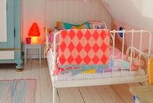 kids decor / modern, electic, colorful furniture and decor for kids / by Mari - Small for Big