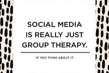social media / Some general social media goodness simply because I'm it's biggest fan. / by Karen Hammons