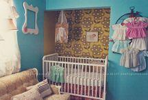 Girl Nursery Ideas / by Sarah Andres