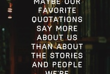 quotes and things / by Jenna Merkle