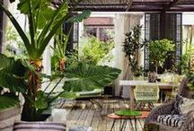 Terrasses, vérandas, patios... / by Lili Paris
