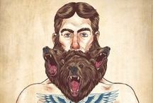 Bearded Brotherhood / One heck of a hairy board. / by Lee Benecke