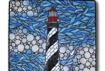Art and artzy mosaics / an artist 'wannabee'.  Love color, mosaics, texture, yarn and quick fun projects.  / by Karen Rapport