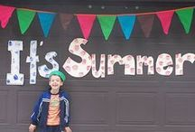 Summer Fun for Kids / Ideas for celebrating warm weather, celebrations outside and all the other joys of summer. #summer #kids #summerfun / by Natalie Stern