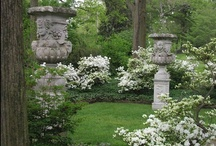 Lovely Gardens / all gardens are beautiful and it is a joy to be able to see so many on pinterest... one looks at them and imagines going for a walk through them / by IssiLen