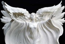 Angels From God / I study angels. They are fascinating. Angels are not cute little babies with wings, they are powerful warriors and messengers from God. / by Velta Thomas