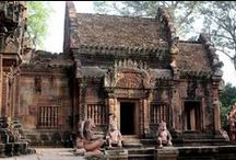 Angkor Wat & Beautiful Temples! / www.aladyinlondon.com / by A Lady in London