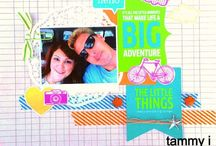 My Scrapbook/ Project Life Pages / by tammy inman