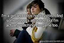 Hockey / best sport in the world!  I love hockey and hockey boys!  <3 / by Libby Lee