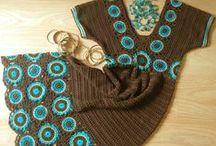 Crochet  - Dresses, tunics, cardigans... / by Marianna