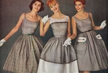 1950s Fashion  / 1950's fashion dresses, clothing and shoes for sale and inspiration.    http://www.vintagedancer.com/1950s/1950s-womens-clothes/ / by Vintagedancer.com