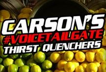 Carson's #VoiceTailgate Thirst Quenchers / All the performances and all excitement of the show is bound to get your thirsty! Our very own Carson Daly is bringing the best in thirst quenchers to you and the #VoiceTailgate! / by The Voice