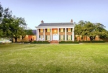 Luxury Ranches & Lake Homes / Rustic and beautiful ranch estate homes. See more at http://updatethemetroplex.com / by Update Dallas