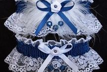 Blue Garters for Wedding Bridal Prom Fashion / We've got the 'Blues'. There are 22 different shades from Blue Vapor to Navy Blue Garters to choose from with satin band and trim on white black or ivory lace. Traditional Something Blue Garter for your wedding. Blue Wedding Garters - Blue Bridal Garters - Blue Prom Garters - Blue Fashion Garters - Blue Fancy Bands™ Trademark Garters at Custom Accessories Garters LLC - www.garters.com / by garters.com