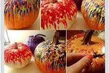 Halloween decor ideas / by Trisha Benson-Priesmeyer