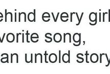 . . . La-La-La-Lyrics . . . / by Nia Kirchhoff